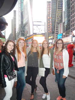 Dancers in NYC